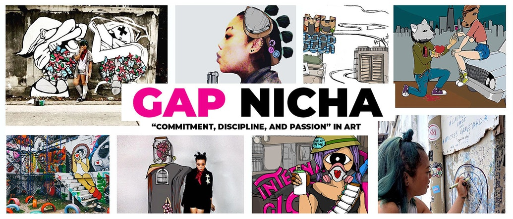 Gap Nicha Talks Commitment, Discipline, and Passion in Art