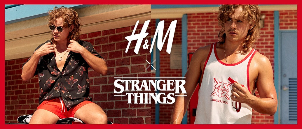 H&M Drops Netflix's Stranger Things Summer Capsule Collection