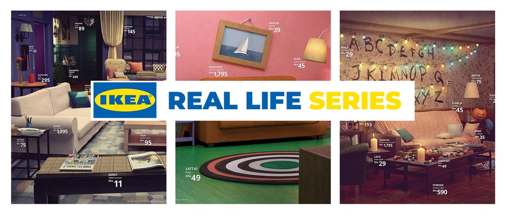 IKEA Recreates 3 Iconic TV Series-inspired Living Rooms