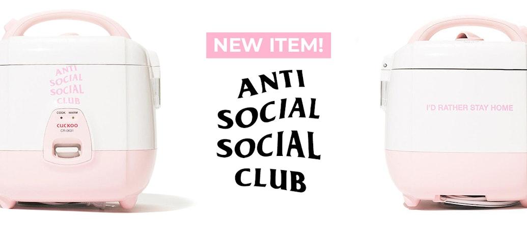 Anti Social Social Club Drops 'Street' Rice Cooker