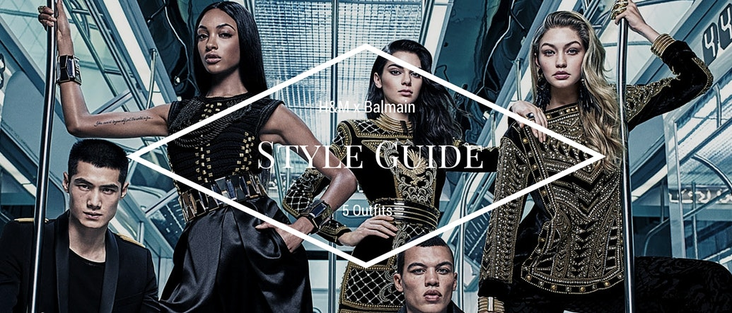 Style Guide: 5 Amazing H&M x Balmain Outfits