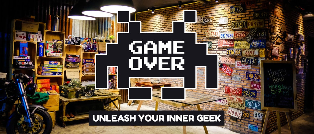 Game Over Lounge: Unleash Your Inner Geek