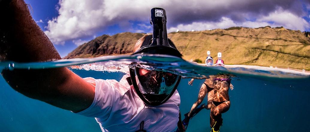 H2O Ninja: The Full-Face Mask That Revolutionizes Snorkeling