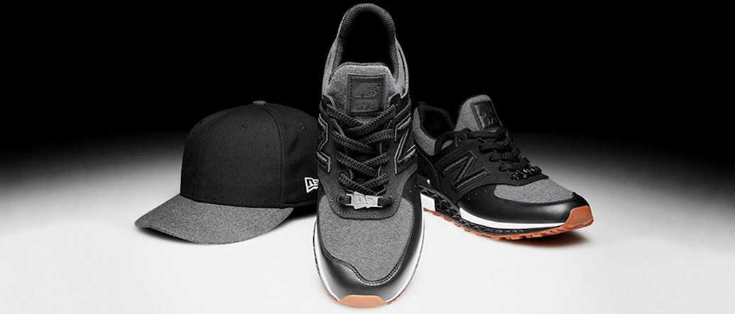 New Era Teams up with New Balance for an Exclusive Sneaker X Cap  collaboration 68f69da5d93