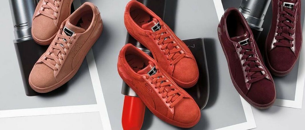 Beauty Meets Movement: MAC Cosmetics Partners With PUMA for a Suede Sneaker Collaboration