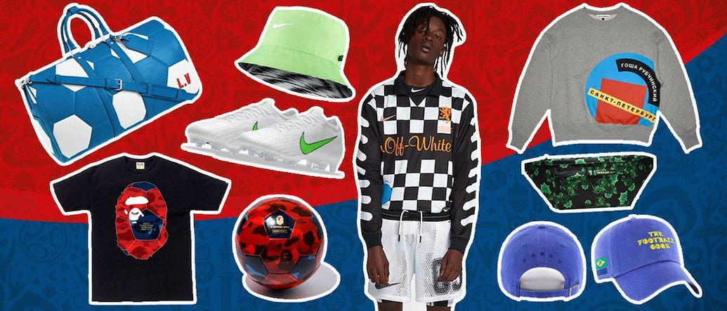 Football Meets Fashion: 5 Fashion Brands And Their Exclusive FIFA World Cup 2018 Collections