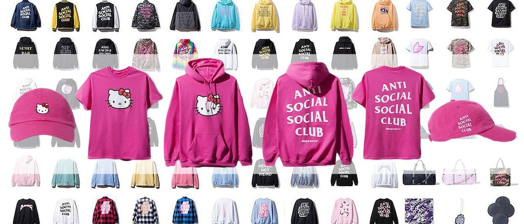 Anti Social Social Club Comes Up All Cute and Adorable With the New Hello Kitty Collaboration