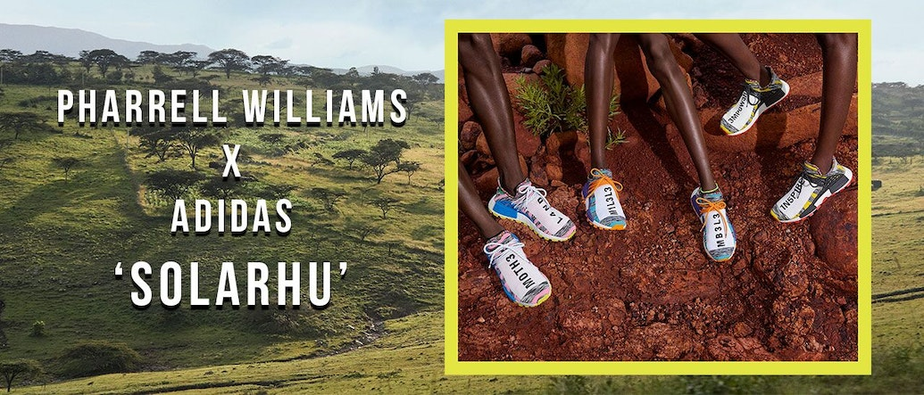 The All-New Pharrell Williams x Adidas 'Solar Hu' Collection Draws Inspiration From East Africa