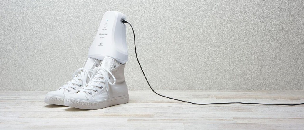 Panasonic Launches a Shoe Deodorizer That Will Freshen Your Kicks While You Sleep