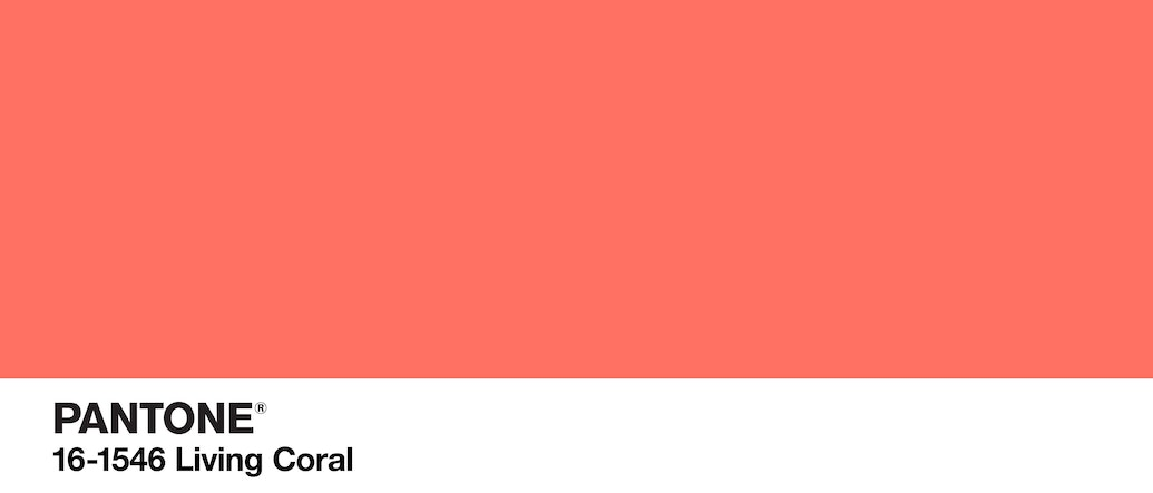 Living Coral: Pantone's Color of the Year 2019 Hints of a Vibrant Year Ahead of Us!