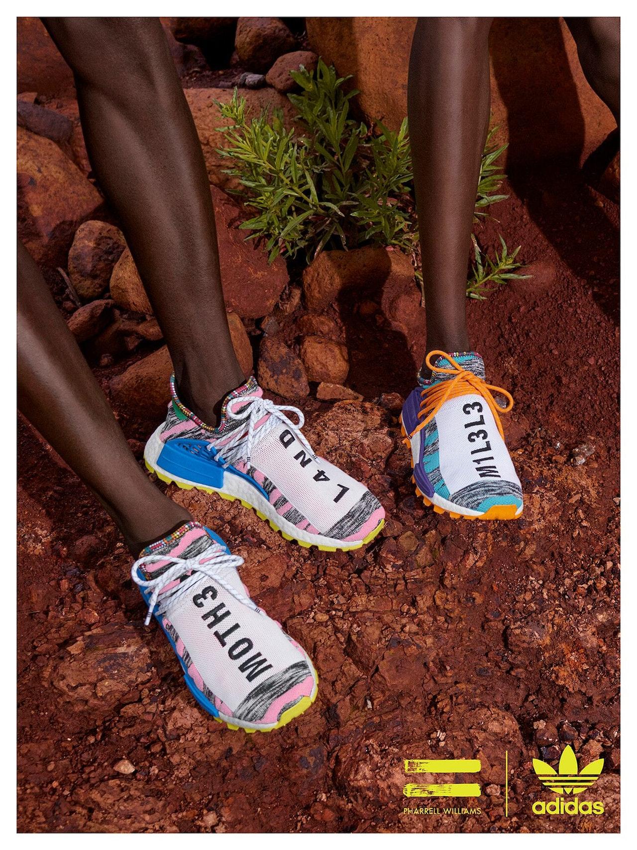 cfb424f74 The All-New Pharrell Williams x Adidas  Solar Hu  Collection Draws ...