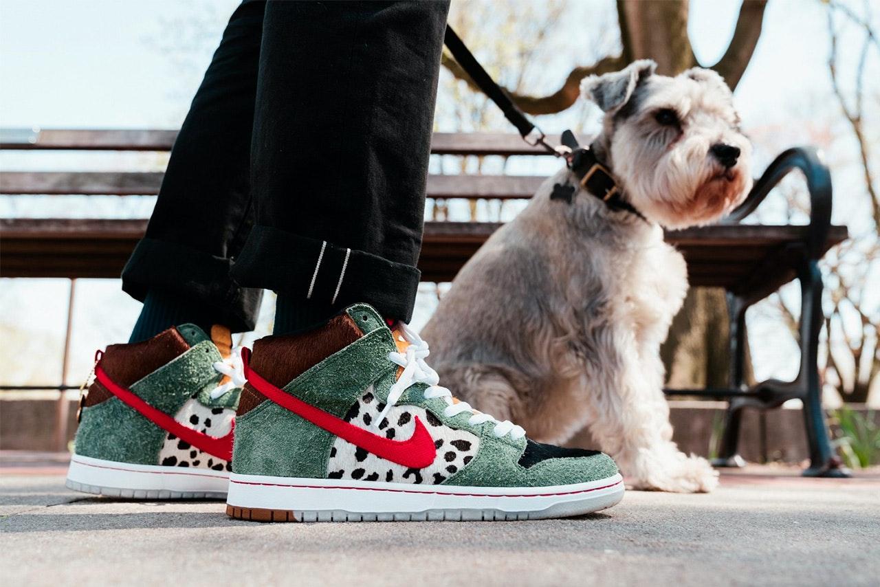 "reputable site f8e9b 4bd08 19. Nike SB Dunk High ""Dog Walker"""